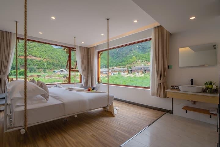 近里格半岛和女神山索道,私享山景大床房