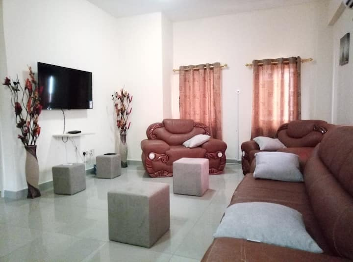 Lovely 2Bedroom Furnished Aptment at Devtraco Tema