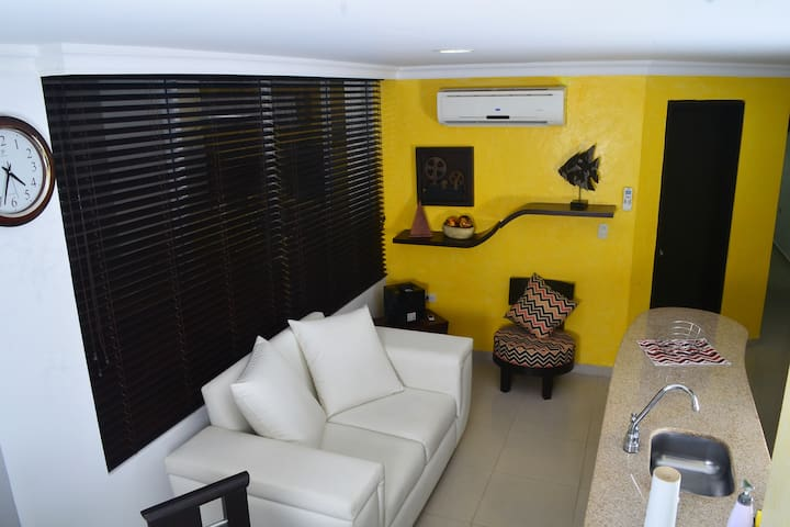 Beautiful two-bedroom apartment in an excellent location