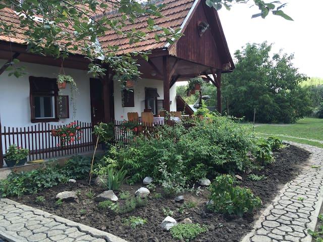 Álomparti nyaralás Dinnyésháton - Tiszanána - House