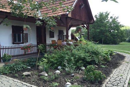 Álomparti nyaralás Dinnyésháton - Tiszanána - Huis