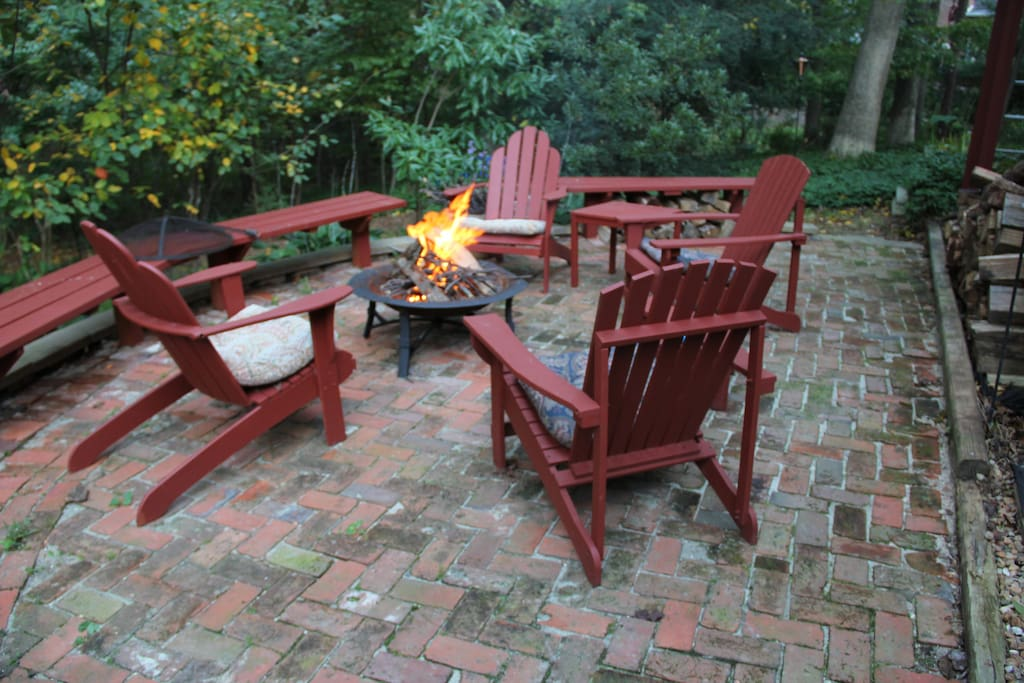 Join us for a talk around the firepit.