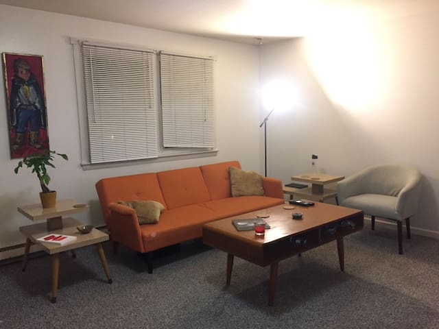Apartment near college campus - Amherst - Aamiaismajoitus