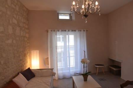 Gîte meublé au calme dans le centre historique - Şehir evi