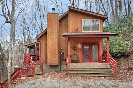 Fernbrook Treehouse - Private Mountain Cabin - Maggie Valley - House