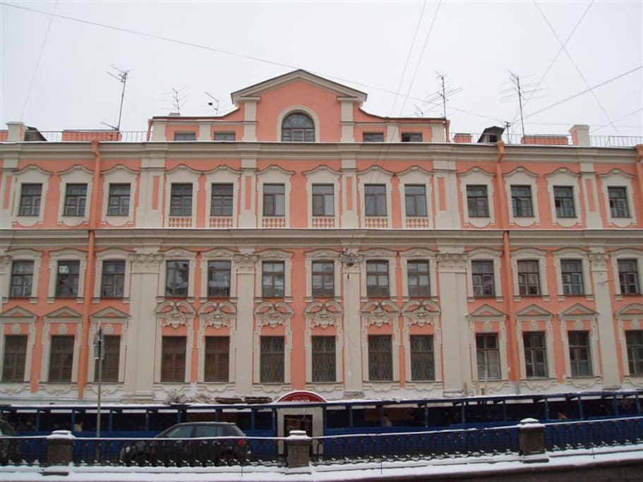 Bed And Breakfast St Petersburg Russia