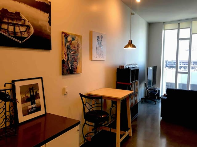 Modern apartment in downtown