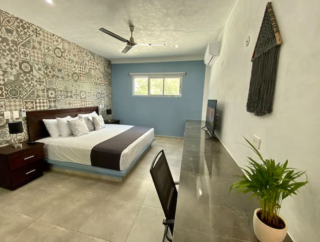 New Cozy Tulum Style Apartment with Sunny Terrace