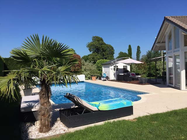 Private villa with swimming pool - Veigy-Foncenex - Ev