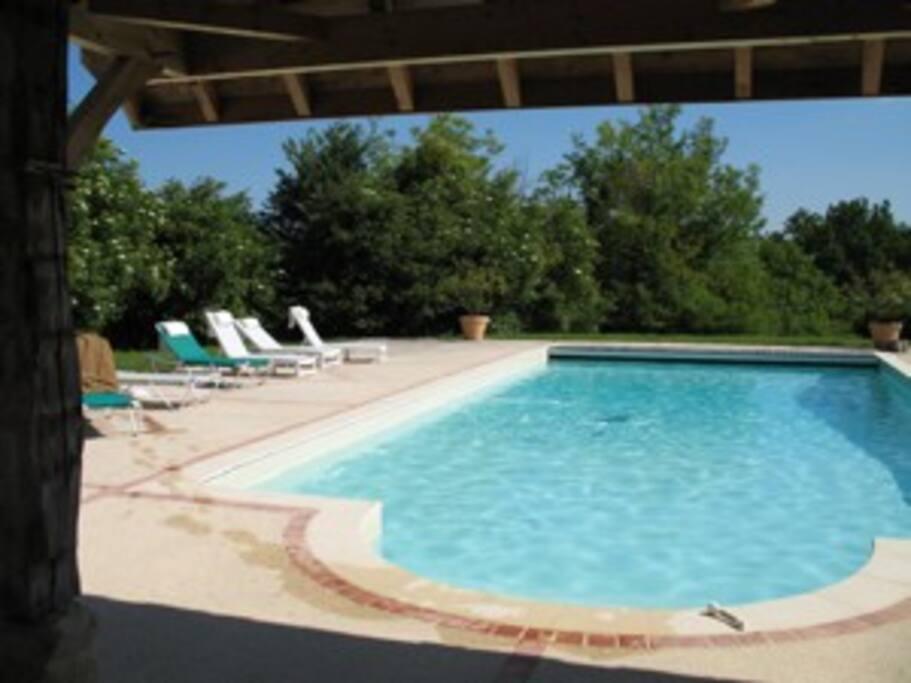 Heated pool, 6 x 12 meters!!