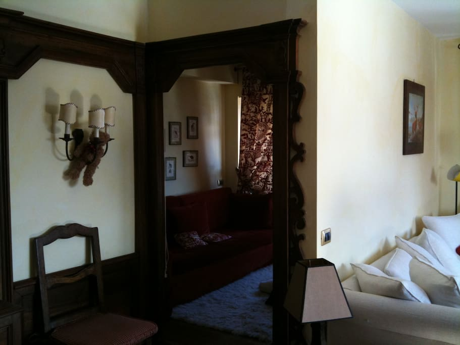 Entrance of the guest room
