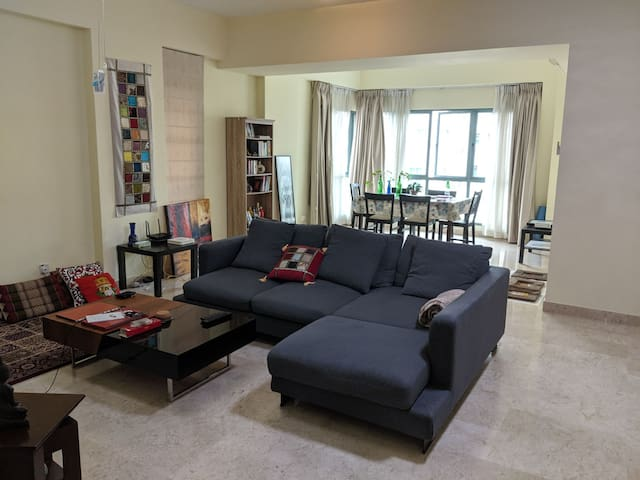 Bright spacious room in a great condo