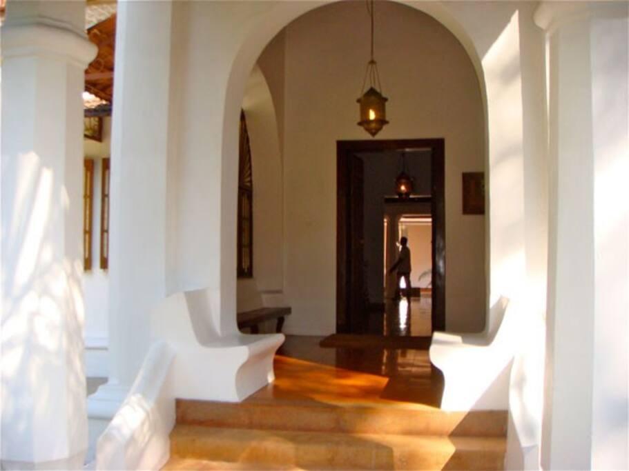 The Balcáo is a room outside
