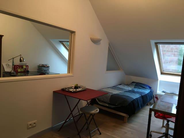Chambre proche Roubaix et Villeneuve d'Ascq