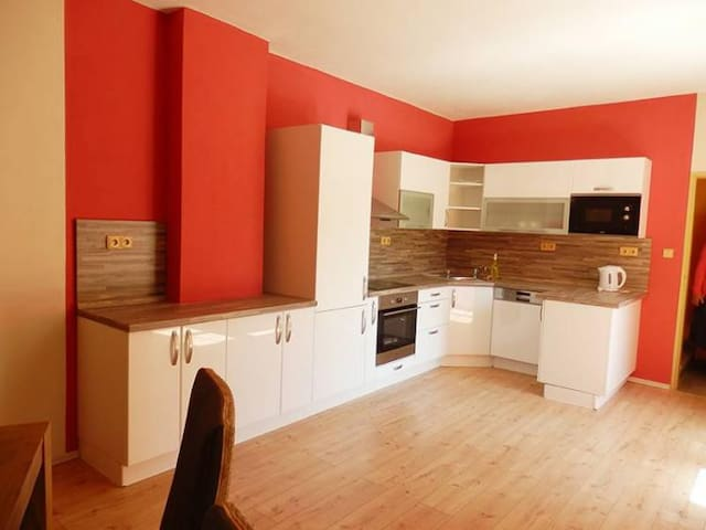Beautiful apartment with a garage - Liberec