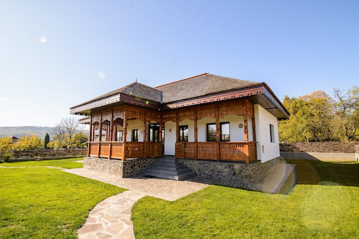 A Romanian traditional house