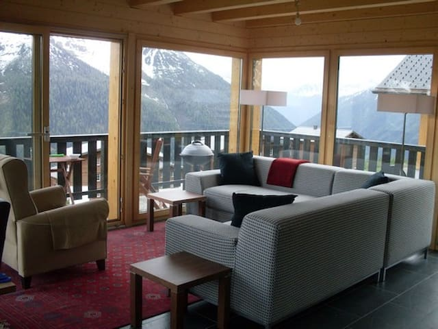 LUXURY VALAIS CHALET WITH SPECTACUL - Wiler (Lötschen) - Chalet