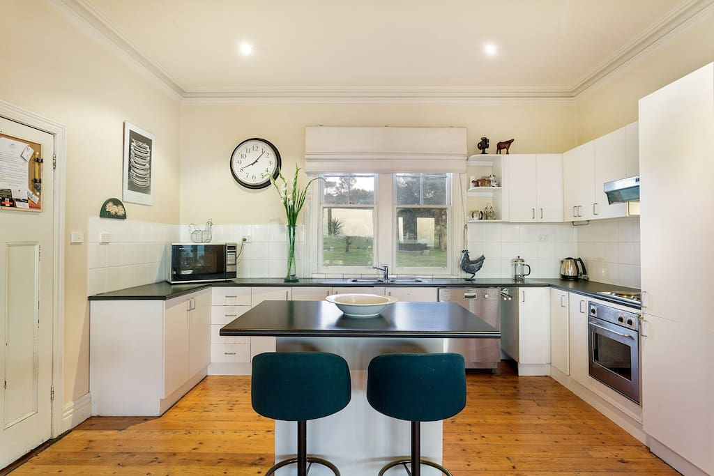 Main Kitchen with dishwasher