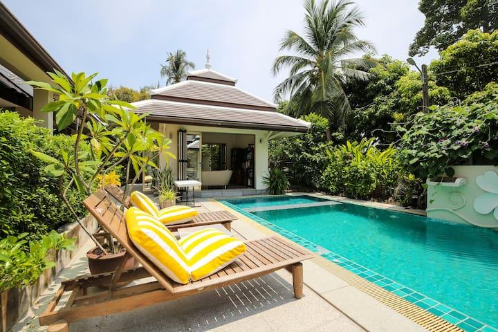 Mid-size 4/5 bedroom luxury villa for rent