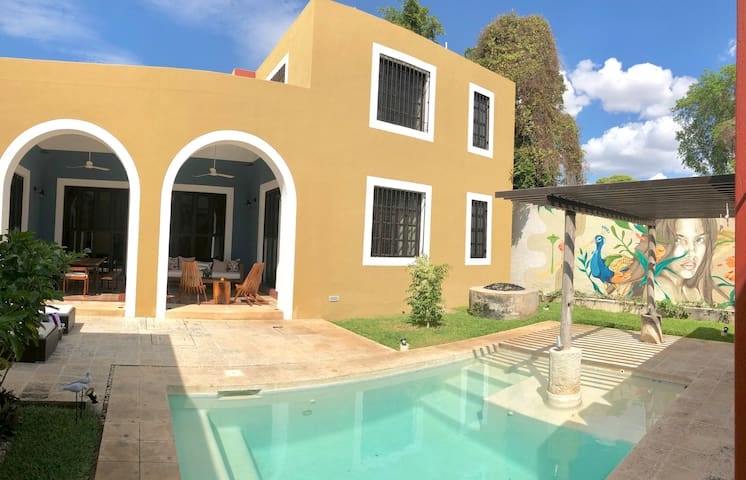 Modern Hacienda Style @CasadeColoresMerida