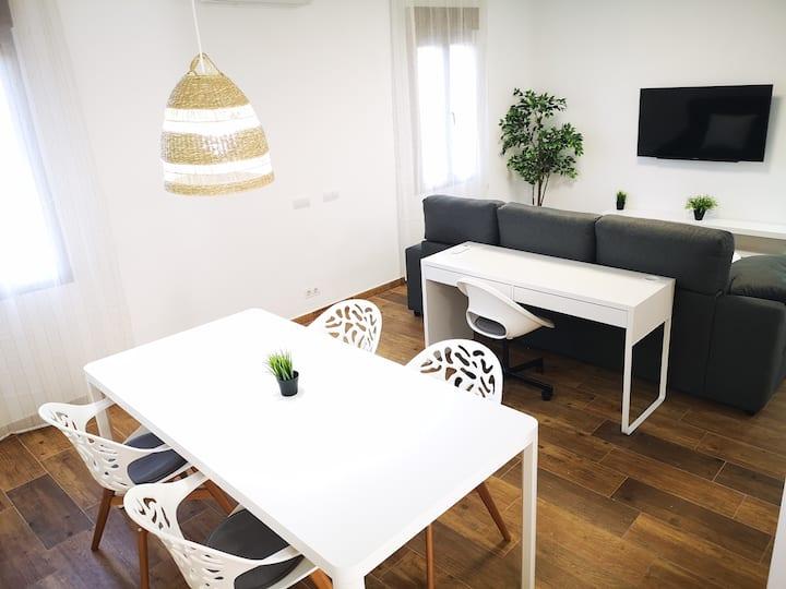 EL NIU-apartamento cerca castillo Xàtiva