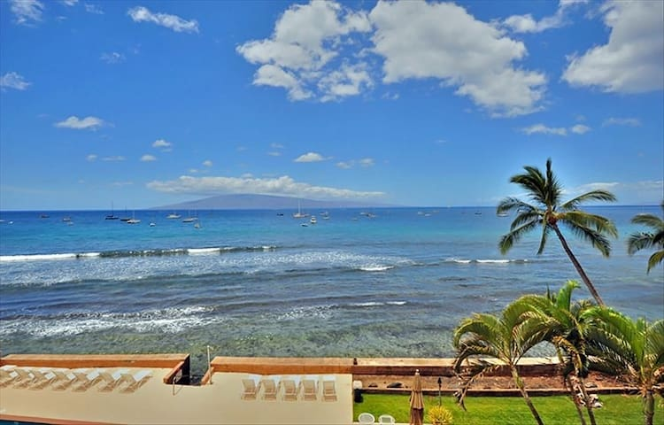 Oceanfront Lahaina Roads #404, Your Paradise..