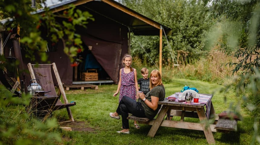 Hoeve Lochem aan de Berkel - Canvas Lodge for 10