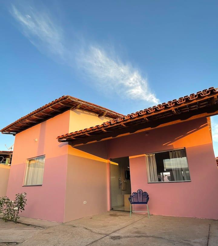 A casinha rosa