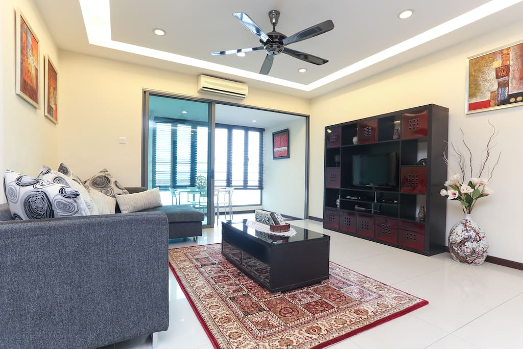 Living Room and Lanna area