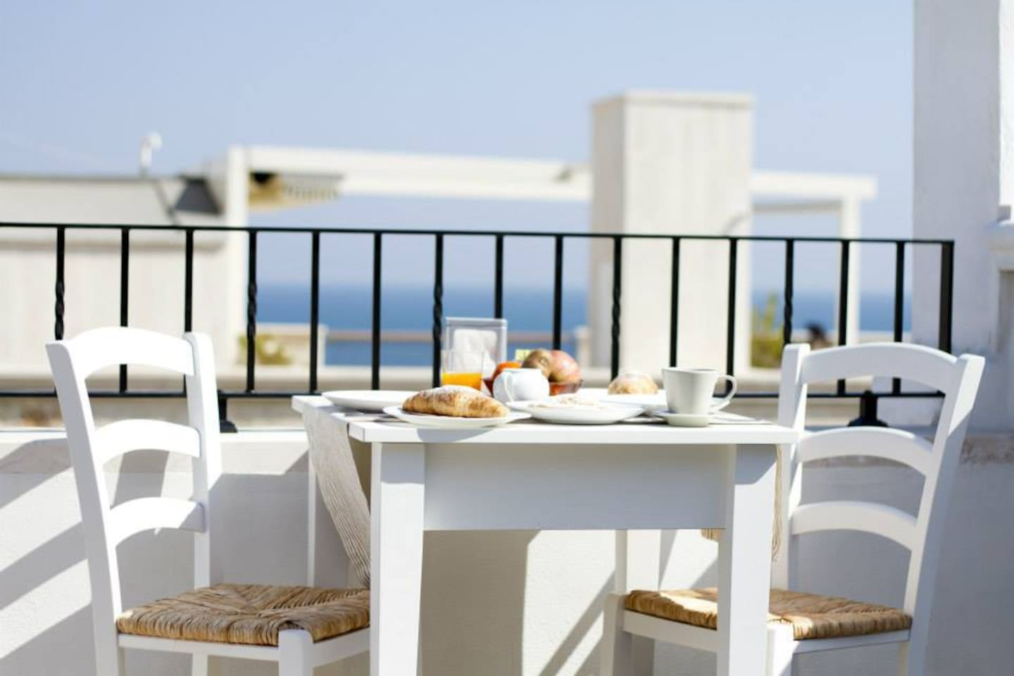 breakfast and sea view
