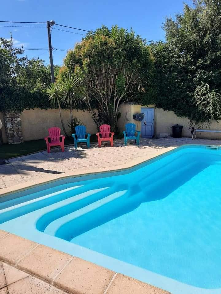 Gite de charme, piscine, patio ,sauna,3 chambres