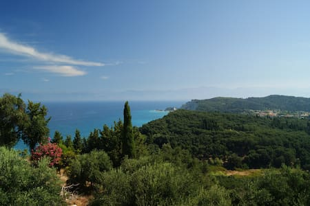 Private rooms with beautiful view - Avliotes - Other