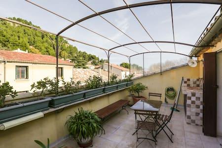 Maison de village Provence Alpilles - Lamanon