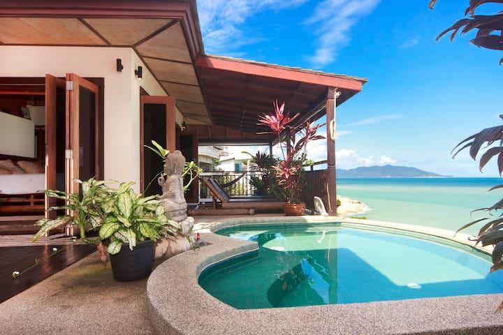 Ocean front villa in Koh Samui - Ko Samui, Suratthani