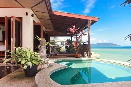 Ocean front villa in Koh Samui
