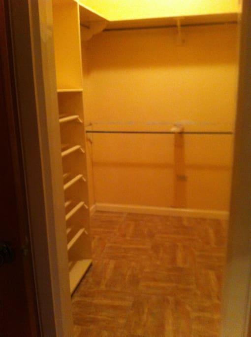 Master Bed Room closet