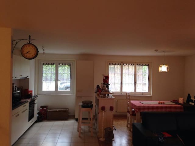 Nice simple room in a Charming town - Blonay - Wohnung