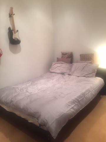 Clean, cleared quiet double room