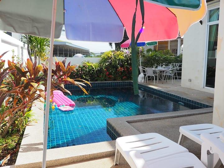 Io Villa... Unique 2 bedr private pool in NAI HARN