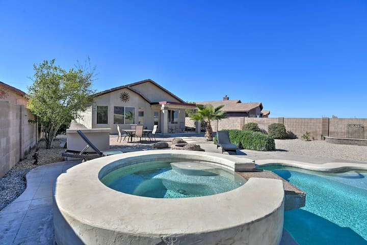 Gold Canyon Home w/Firepit, Grill & Mtn Views