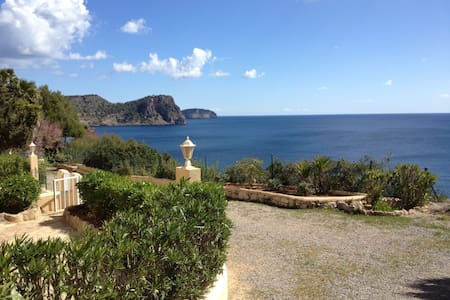 Cozy apartment with sea view - Cala Llenya - Apartment