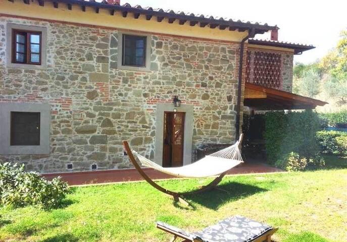 Il Noce 3 bdrs with shared pool  - Figline Valdarno - Casa