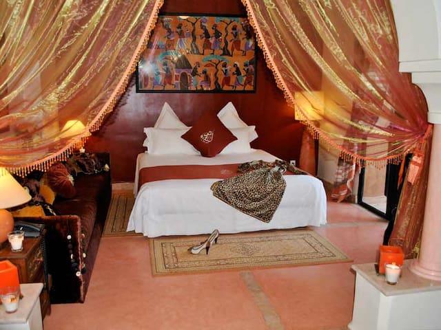 Laila Saida Riad Al Mendili Kasbah - Marrakech - Lejlighed