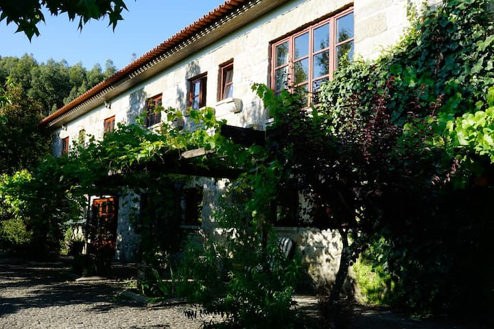 Beautiful apartment in a farmhouse, near Braga - Longos - Apartment