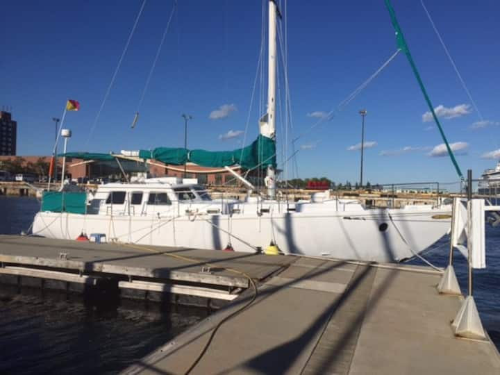 50 foot luxury sailboat