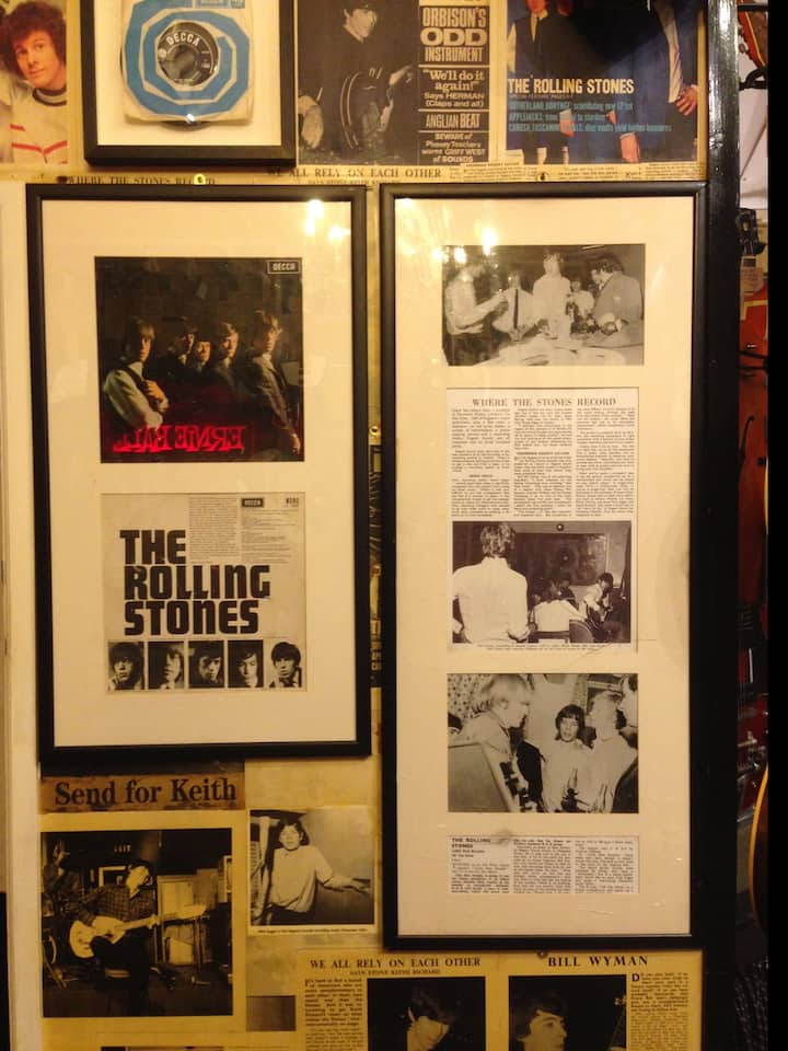 See where the Rolling Stones were formed