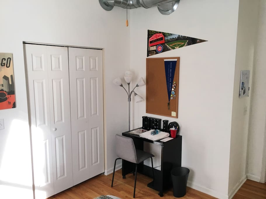 Your Private Room with Closet & Desk