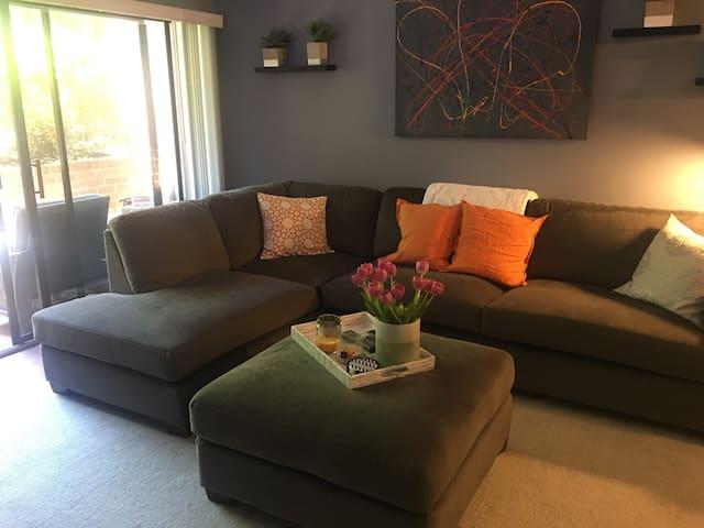 Modern, convenient, & comfortable condo in C'ville