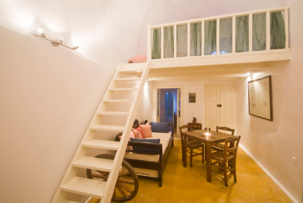 Upstairs loft double bedroom