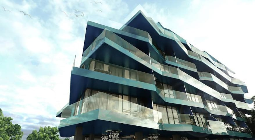 Acqua condo 1 bedroom  sea view - Pattaya City - Appartement